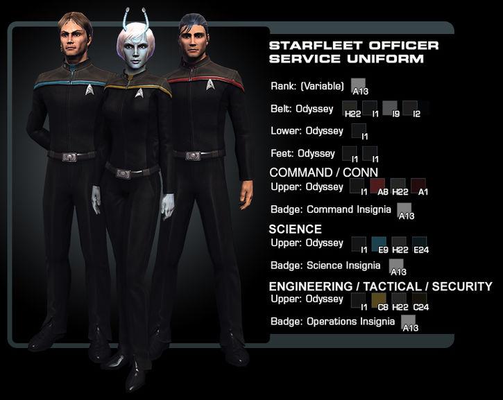 sternenflotten uniform kaufen
